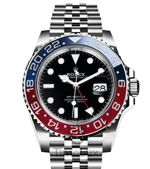 Replica Rolex GMT-Master II SS Pepsi Jubilee 2018 - TimeLux - Replica Watches Greece