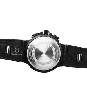 Replica Bvlgari Diagono Scuba 41mm Gold Bezel Black Dial - TimeLux - Replica Watches Greece