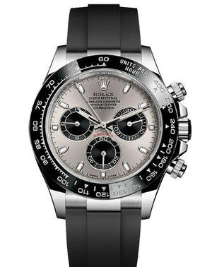 Replica Rolex Daytona Cosmograph Silver Dial Black Ceramic Bezel Baselworld 2017 - TimeLux - Replica Watches Greece