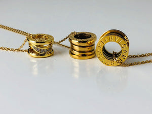 Replica Βvlgari Necklaces Gold - TimeLux - Replica Watches Greece
