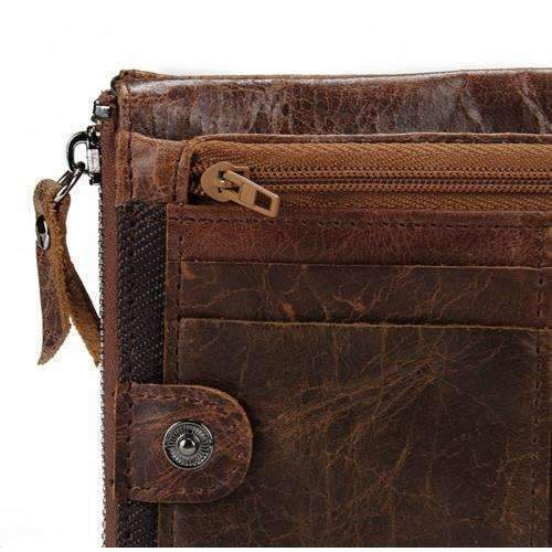 DeeTrade Clutch Zipped Wallet (2 colors)