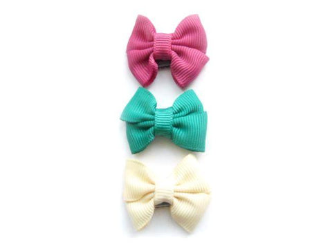 3 Pack Mini Latch Butterfly Bows
