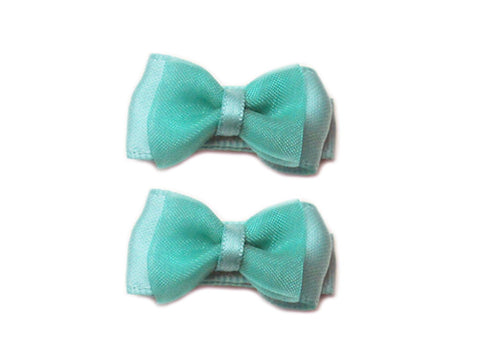 Small Snap Fancy Hair Bows - Baby Wisp