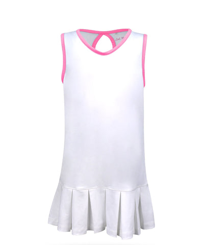 Cape May Dress White - Little Miss Tennis