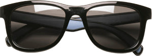 Sunglasses: Boys 5-8, Black - Little Miss Tennis