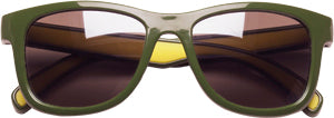 Sunglasses: Boys 5-8, Green - Little Miss Tennis