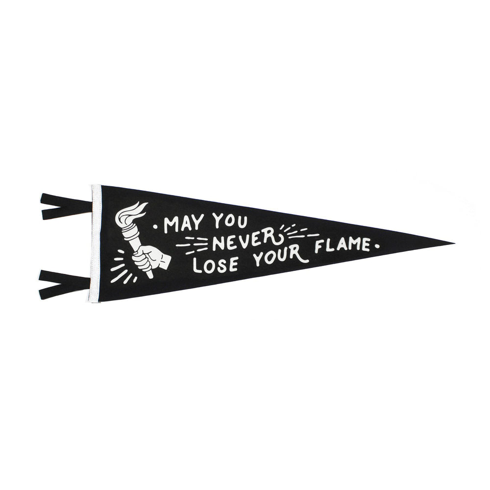 Oxford Pennant - May You Never Lose Your Flame Pennant
