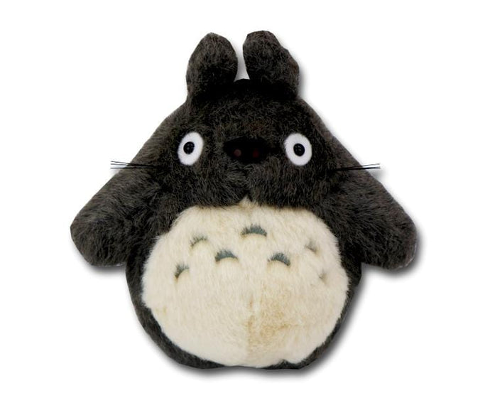Totoro S-size Plush (dark gray)