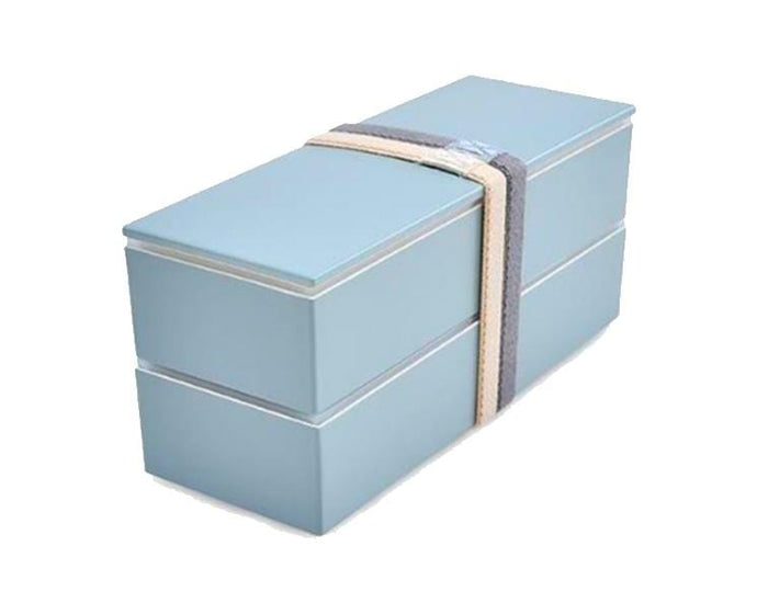 Musubi Slim 2-Layer Blue Bento