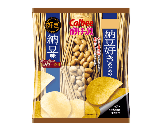 Calbee Potato Chips: Natto