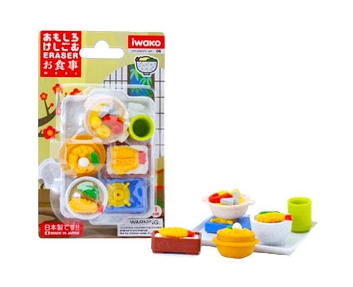 Meal Time Eraser Set