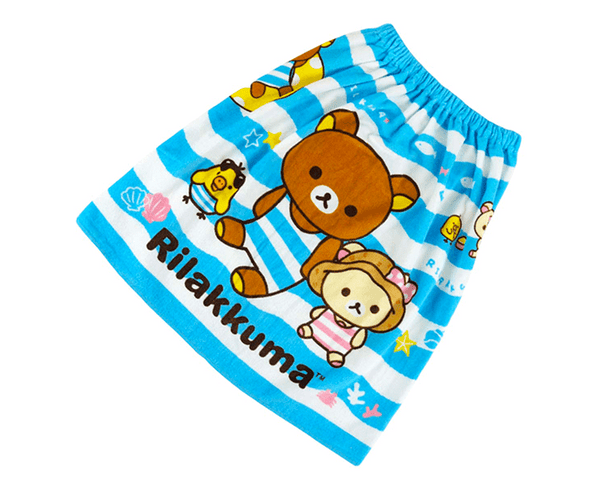 Rilakkuma Kids Towel Skirt (Bathing Suit)