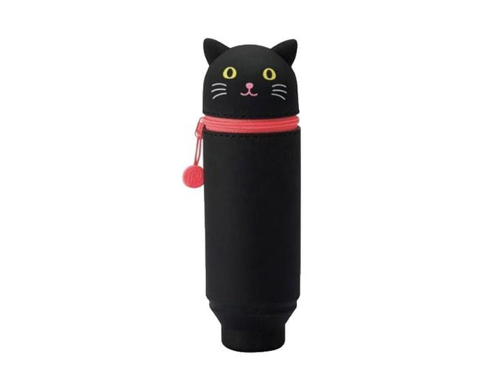 Standing Pen Case (Black Cat)