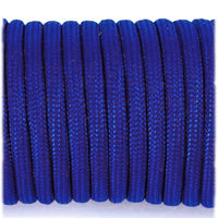 Genuine Mil Spec Type III 550 Paracord - Blue