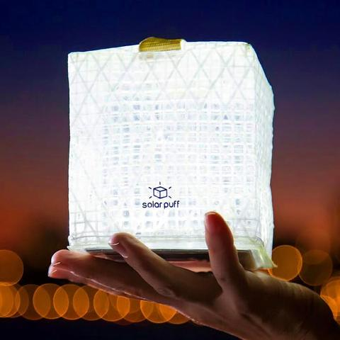 SolarPuff Solar Powered Lantern by Solight
