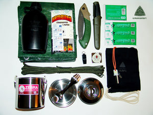 Ultra Light Bushcraft Kit
