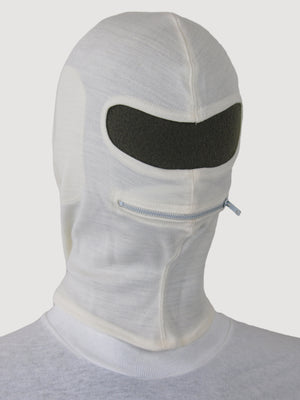White Winter Balaclava