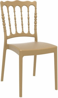 Compamia Napoleon Dining Chair Gold ISP044-GLD - YourBarStoolStore + Chairs, Tables and Outdoor  - 1