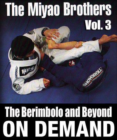 Cover Photo - The Berimbolo & Beyond Vol. 3 by the Miyao Brothers (On Demand)