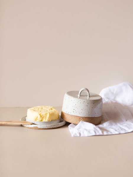 Coolamon Round Butter Dish