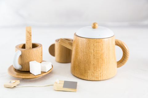 Wooden Tea Set by Make Me Iconic