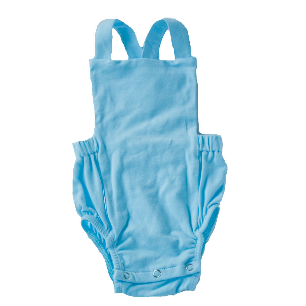 Baby Blue Overall Sunsuit
