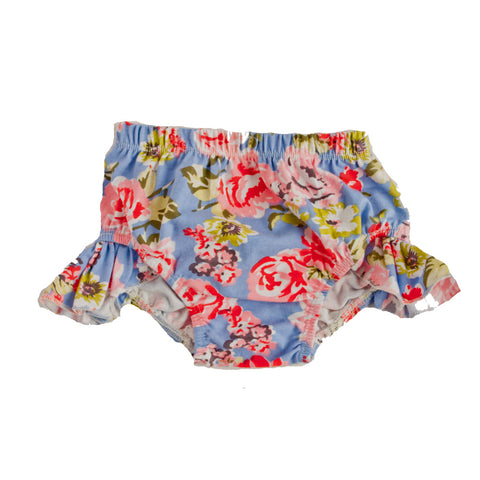 Flutter Bloomers Periwinkle Floral