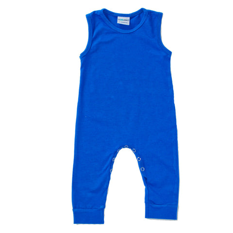 Royal Blue Tank Romper