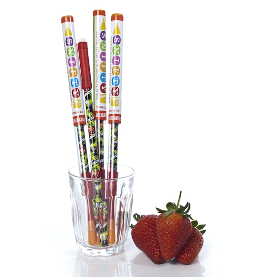 Snifty Scented Pencil Topper - Strawberry