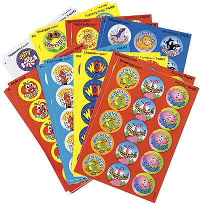 Positive Words Variety Pack Smelly Stickers - 300 stickers