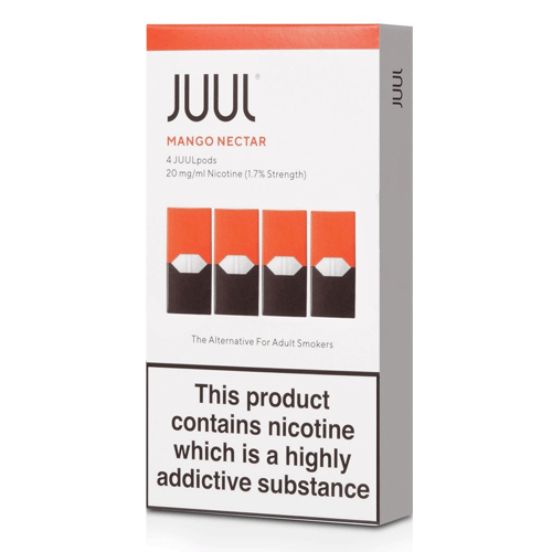 Mango Nectar vape liquid pods by Juul - 0.7ml x 4 - UK Authentic