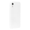 White Silicone iPhone Case