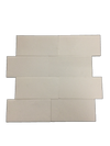 "White Thassos Extra 3"" x 6"" Honed (Packed @ 40)"