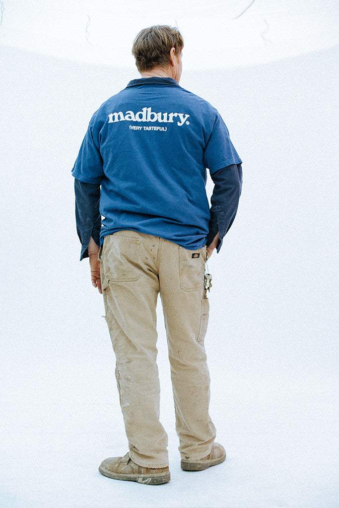 Madbury Teamster Logo T-Shirt (Union Navy)