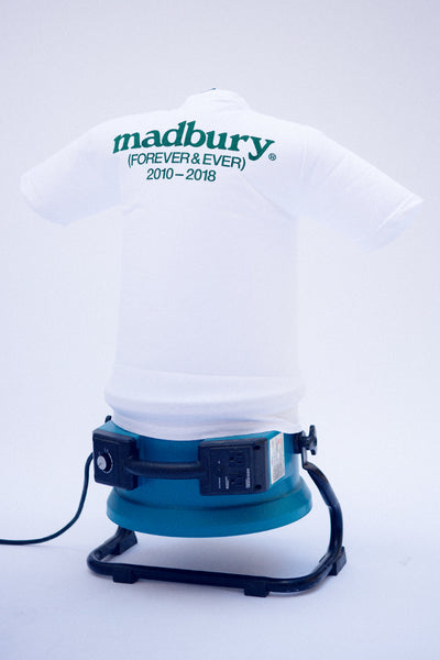 Madbury Forever T-Shirt Toothpaste White