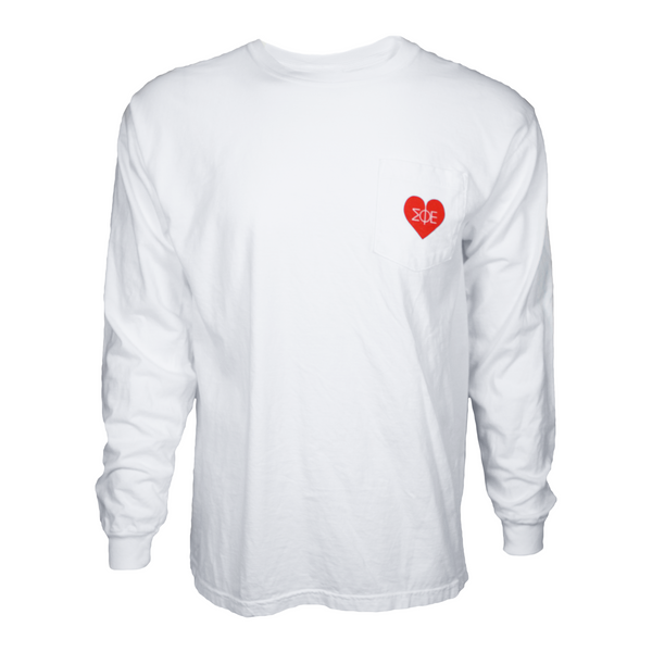 Blackburn Heart Long Sleeve Tee