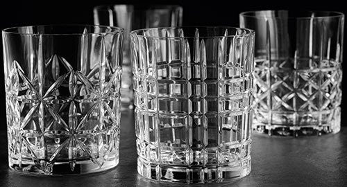 Nachtmann 95906 Highland Whisky Tumbler (Set of 4), Clear