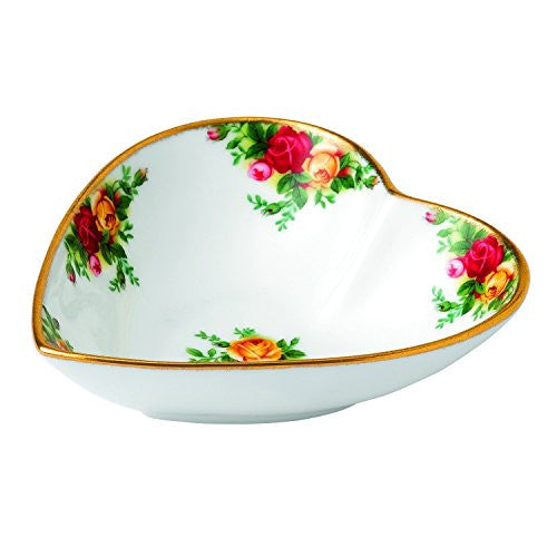 Royal Albert OLD COUNTRY ROSES HEART TRAY