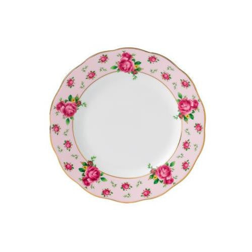 Royal Albert NEW COUNTRY ROSES PINK BREAD & BUTTER PLATE 6.3""