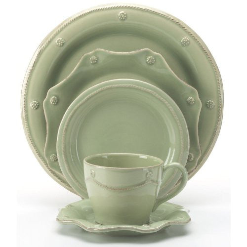 Juliska Berry & Thread Green 5 Piece Place Setting