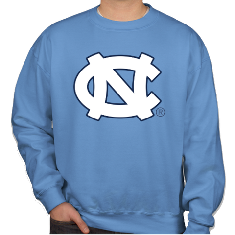 North Carolina Tar Heels Classic Game Day Crewneck - Carolina Blue