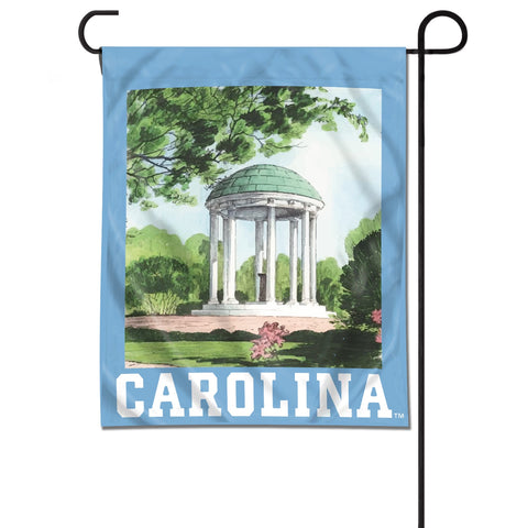 North Carolina Tar Heels UB&F Old Well Garden Flag