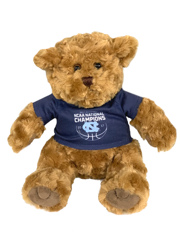 2017 National Championship UNC Teddy Bear