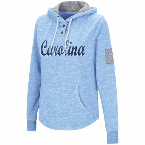North Carolina Tar Heels Colosseum Women's Double Fleece Hoodie - Carolina Blue