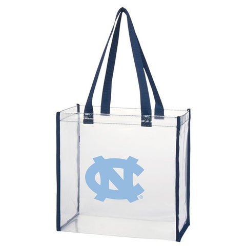 North Carolina Tar Heels Clear Open Stadium Tote