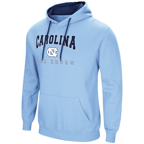 North Carolina Tar Heels Colosseum Playbook Pullover Hoodie - Carolina Blue - Front