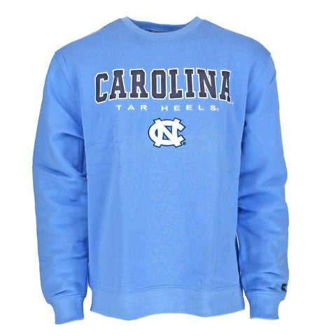 North Carolina Tar Heels Colosseum Classic UNC Crewneck Pullover Sweatshirt - Carolina Blue