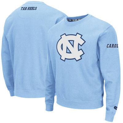 North Carolina Tar Heels Colosseum Game Day Crewneck Sweatshirt - Carolina Blue