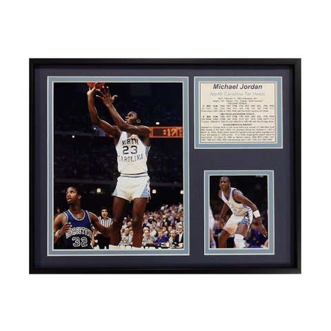 North Carolina Tar Heels Legends Never Die Michael Jordan Final Shot Framed Picture