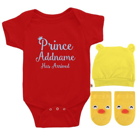 TeezBee Prince Has Arrived Gift Sets